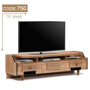 میز lcd مدرن چوب
