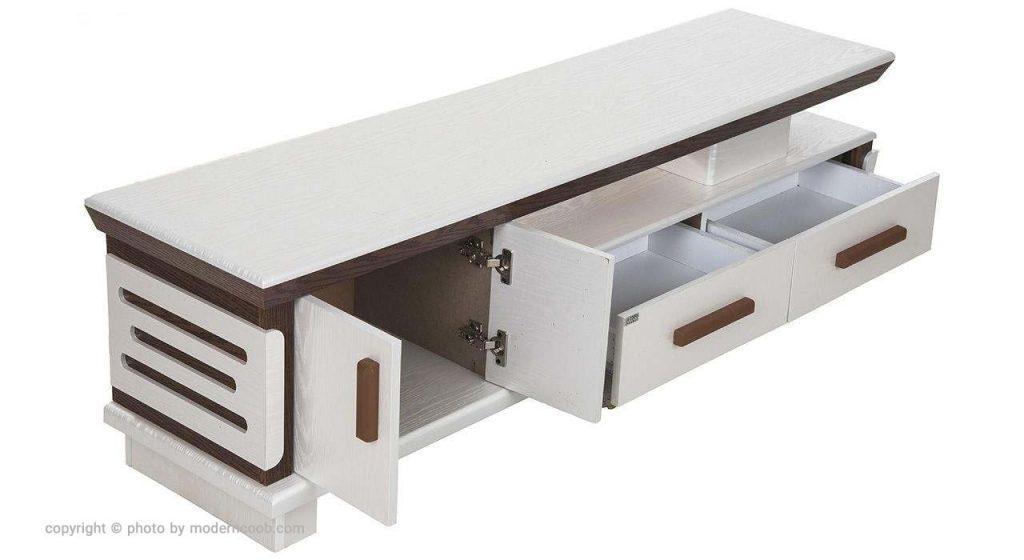 جدیدترین میز تلویزیون مدرن چوب