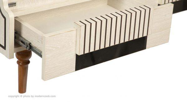میز جلو مبلی مدل 650 مدرن چوب