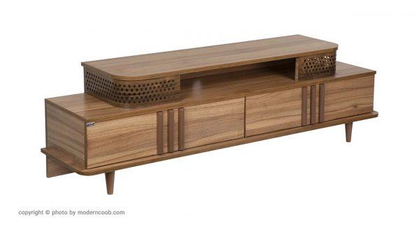 میز تلویزیون مدرن چوب